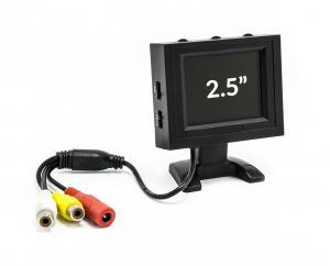 """Přenosný LCD monitor 2,5"""" 12V 480x228px Cinch"""