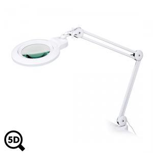 Servisní LED lampa s lupou IB-150, průměr 150mm, 5D
