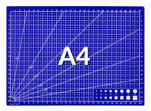 Řezná podložka modrá A4 30x22cm