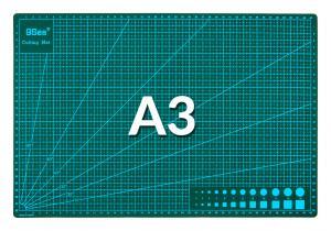 Výrobek: Řezací pracovní podložka oboustranná zelená A3 45x30cm
