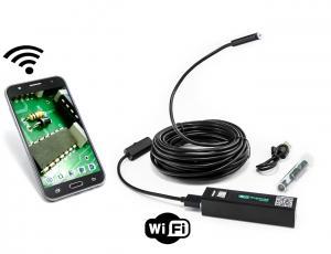 WiFi endoskop pro Android a iOS, krytí IP66, tvarovatelný kabel 10m
