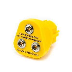 ESD zástrčka do EU zásuvky 230V, 3x ESD patentka 10mm