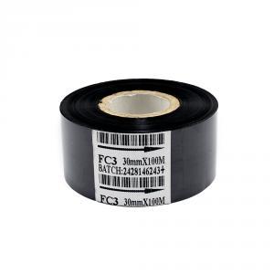 Černá termotransferová páska, délka 100m, šíře 30mm, IN