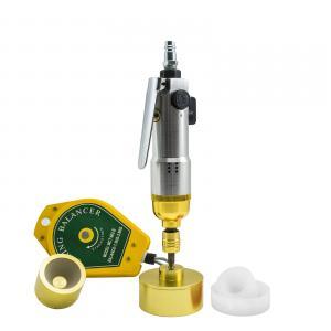 Pneumatický zavírač (utahovák) šroubovacích víček a uzávěrů + adaptéry 5 – 50mm