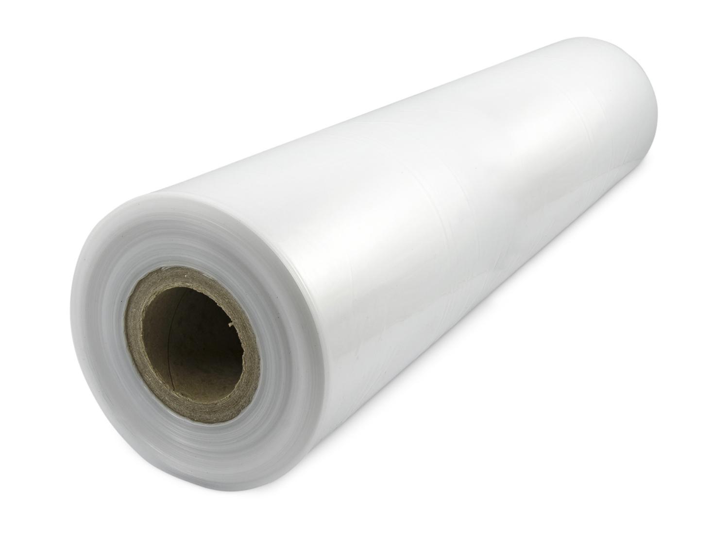 Plochá PE fólie síla 45micron, šířka 1000mm, délka 50m