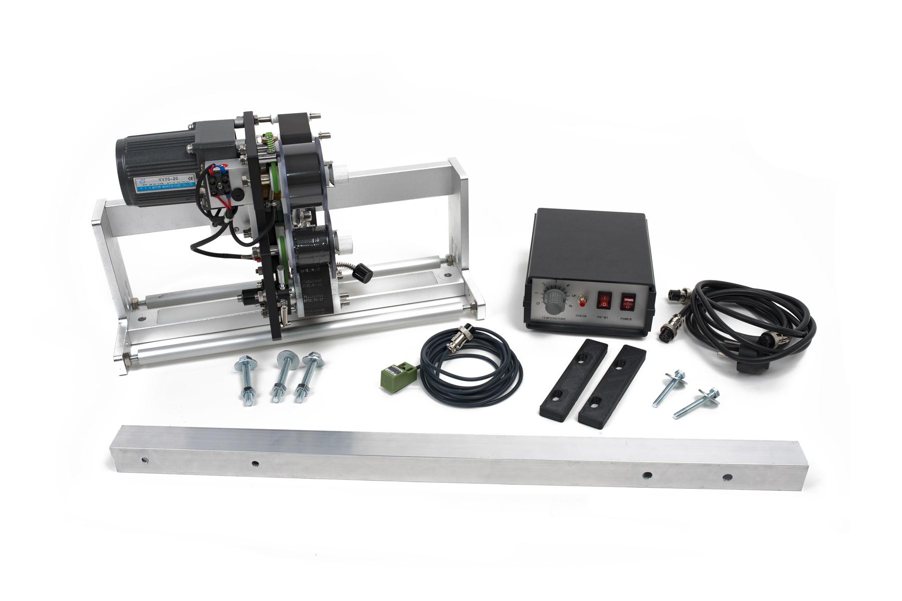 Termotransférová tiskárna HP-241F s montáží pro Automatický vertikální balící stroj do 99g