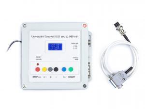 Univerzální digitální časovač pro časy 0,01 sek až do 999 minut