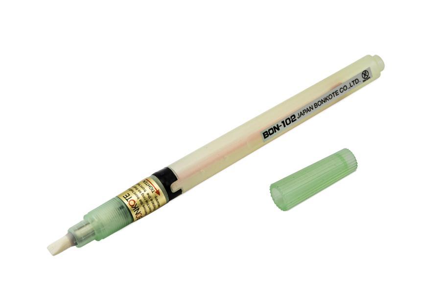 Pero pro nanášení flux tavidla BON-102 - plochá špička