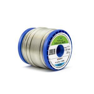 Výrobek: Bezolovnatá trubičková pájka SN100 SnCu0,7Ni(P) 1,0mm 0,25Kg