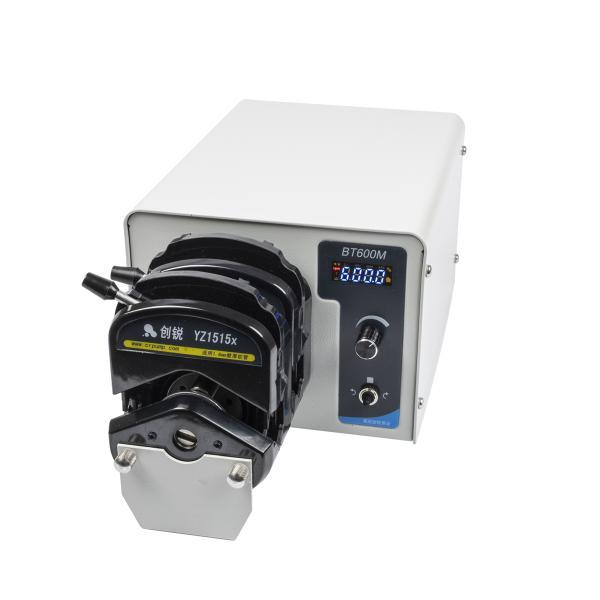 Dvojité peristaltické čerpadlo BT600M 2x 0.07 – 2280ml/min