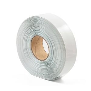Bílá smrštovací PVC fólie 2:1 šíře 57,5mm, průměr 35mm