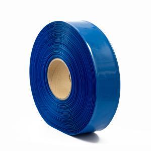 Modrá smrštovací PVC fólie 2:1 šíře 57,5mm, průměr 35mm