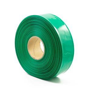 Zelená smršťovací PVC fólie 2:1 šíře 64mm, průměr 40mm