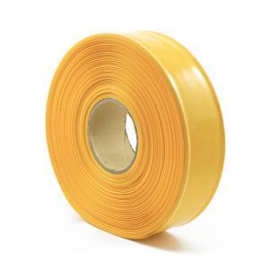 Žlutá smršťovací PVC fólie 2:1 šíře 57,5mm, průměr 35mm