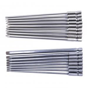 "Set 17ks bitů křížových PH a torx bitů - 150mm 1/4"" HEX"