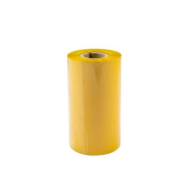 TTR vosková páska, 110mm žlutá, 300m