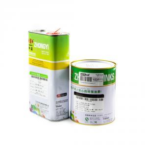 Výrobek: Černá solventní barva s ředidlem pro tamponový tisk 1L+1L
