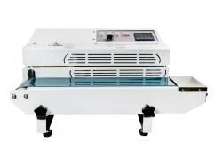 Malá kontinuální svářečka fólií s dopravním pásem FR-600A