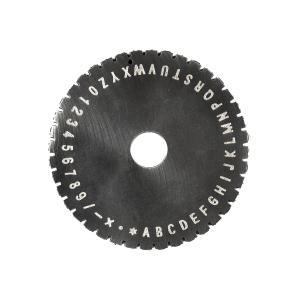 Výrobek: Raznice pro ZX-360 výška znaků 2,5mm
