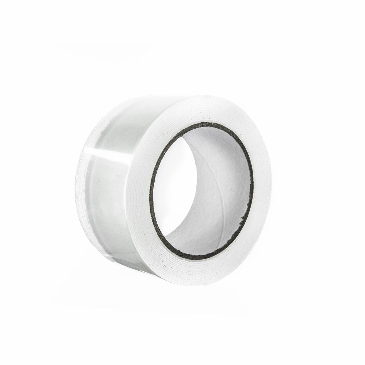 Oboustranná akrylová lepící páska – transparentní 50mm, 5m
