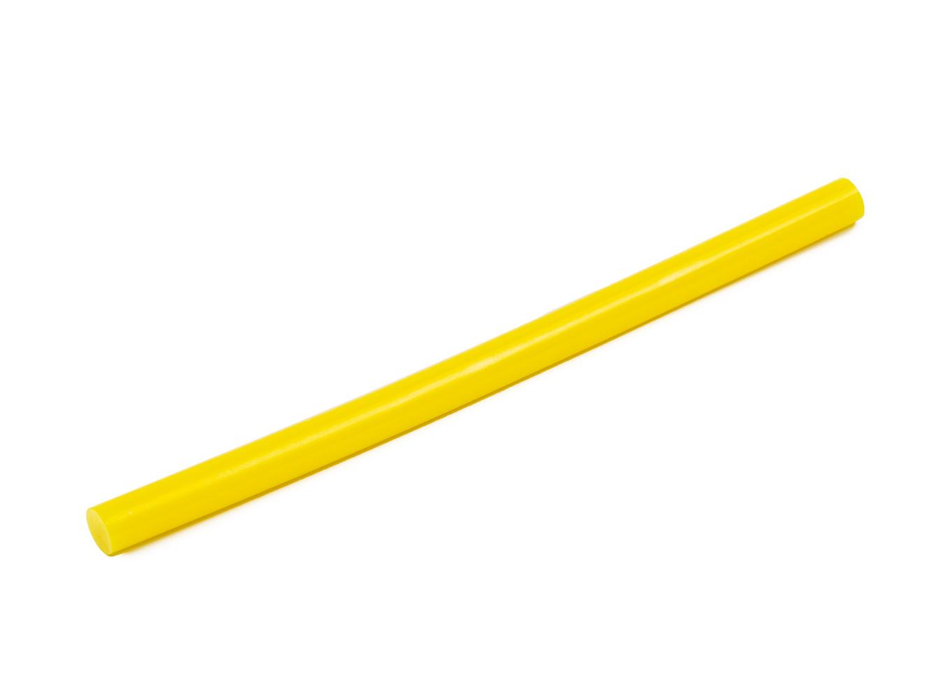 Tyčinka do tavné pistole žlutá průměr 11mm 1ks