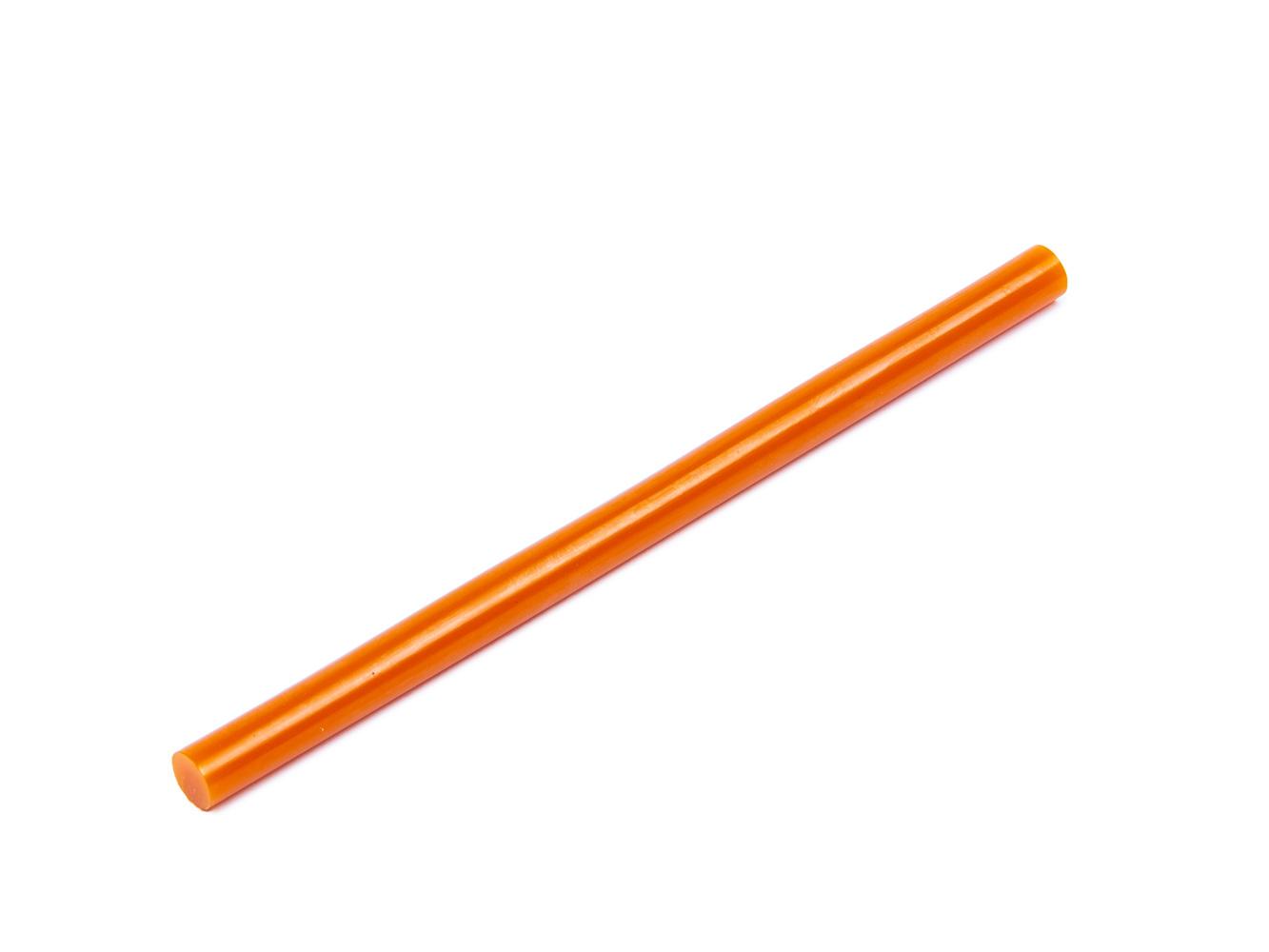 Tyčinka do tavné pistole oranžová průměr 11mm 1ks