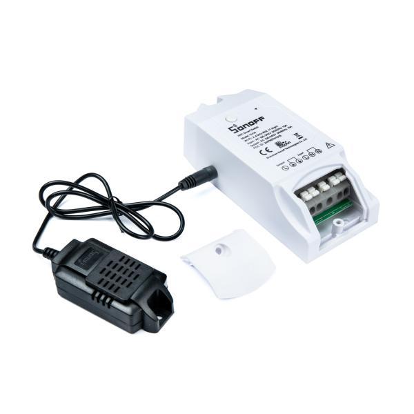 Sonoff TH16 DIY Wifi programovatelný termostat pro monitorování teploty a vlhkosti 15A/230V