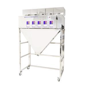 Výrobek: Pětihlavý automatický dávkovač sypkých materiálů a směsí 5x 10-500g