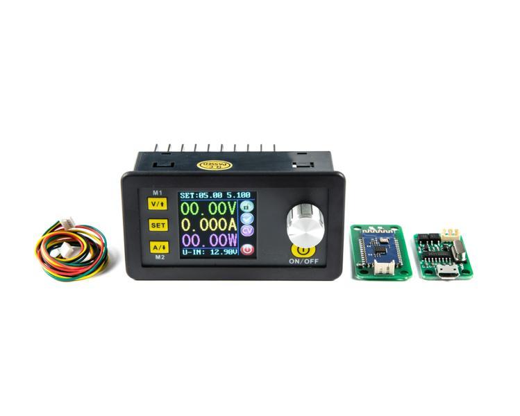 Modul spínaného zdroje s regulací V/A DPS3005 0-30V 0-5A s USB a BT komunikací