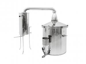 Výrobek: Destilační kolona pro destilaci vody, kvasu a esenciálních olejů 150L
