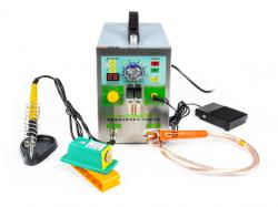 Bodová svářečka kontaktů baterií a aku packů Sunkko 709AD+ s mikropájkou