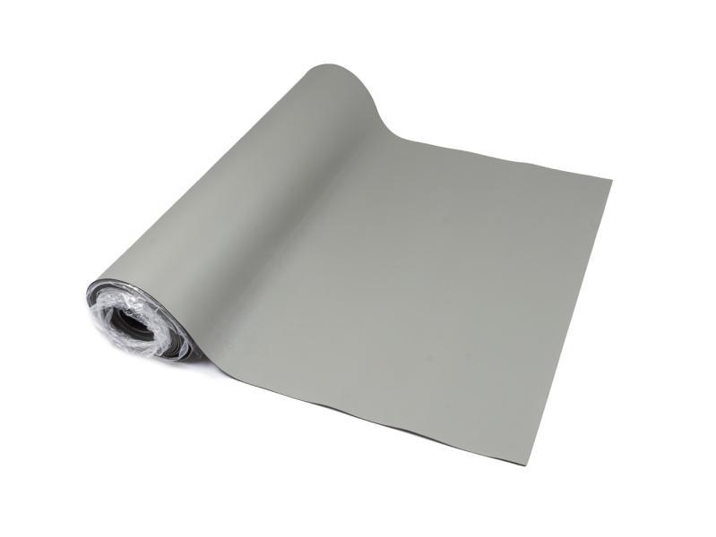 Antistatická tepluvzdorná podložka šíře 120cm šedá, texturovaná s vroubkovanou spodní vrstvou