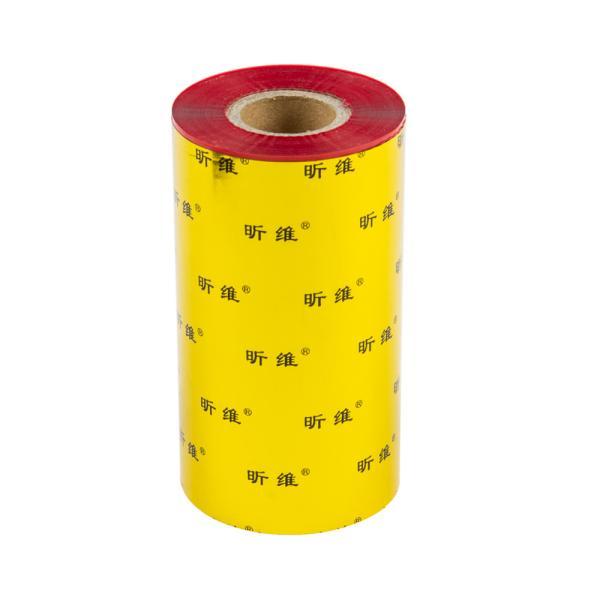 TTR pryskyřičná páska, 110mm červená, 300m