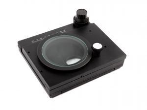 Otočný suport / stolek s posuvem pro mikroskopy