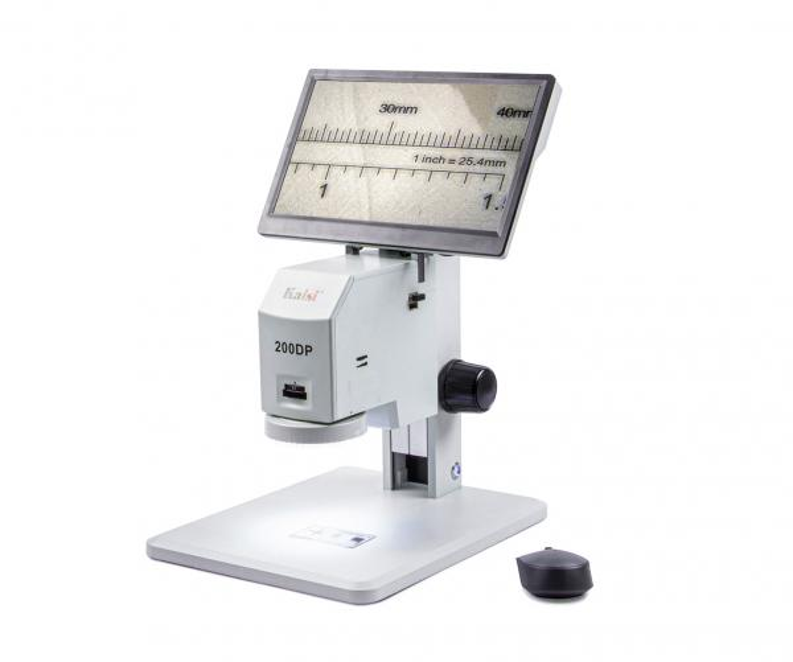 """Digitální měřící mikroskop Kaisi 200DP s 12""""LCD monitorem"""