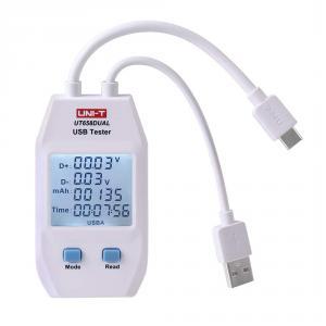 UNI-T UT-658D USB Tester s měřením kapacity s USB-C a USB-A