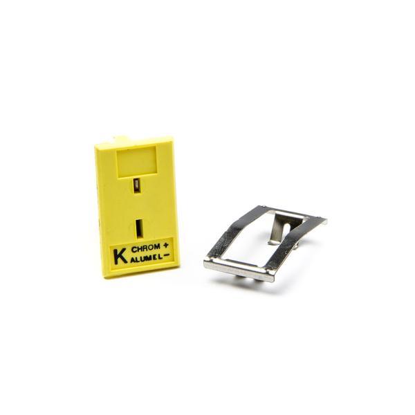 Panelový konektor MPJ-K-F pro termočlánkové sondy typ K