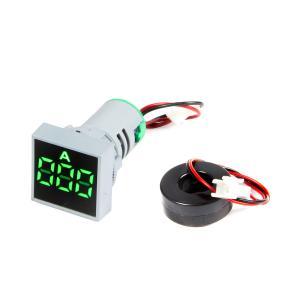 Výrobek: Digitální Ampérmetr AC 0-100A pro vestavbu 22mm čtvercový
