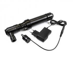 Monokulární mikroskop se zvětšením 30-200x a vnitřním osvětlením pro inspekci a defektoskopii