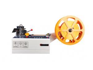 Výrobek: Automatická řezačka / dělička popruhů, textilních pásek, suchých zipů a lan 988T