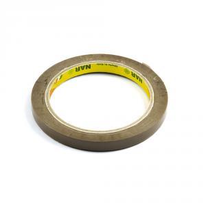 Lepící páska pro zavírání sáčků, šíře 9 mm, hnědá
