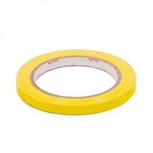 Výrobek: Lepící páska pro zavírání sáčků, šíře 9 mm, žlutá