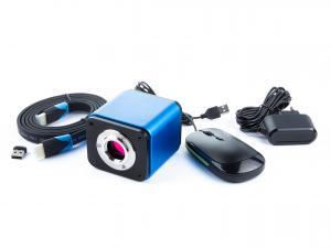 Výrobek: Smart Kamera pro mikroskopy s automatickým ostřením 5Mpix, HDMI, USB, Wifi, Sd karta s měřícím SW
