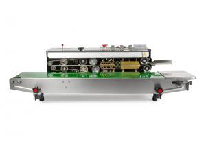 Kontinuální svářečka fólií s dopravním pásem a inkoustovým tiskem DBF-810SUS