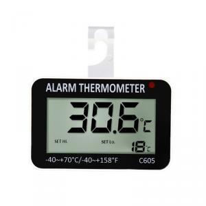 Malý závěsný teploměr C605 pro kontrolu teploty v lednicích a mrazácích -40C ~+70C