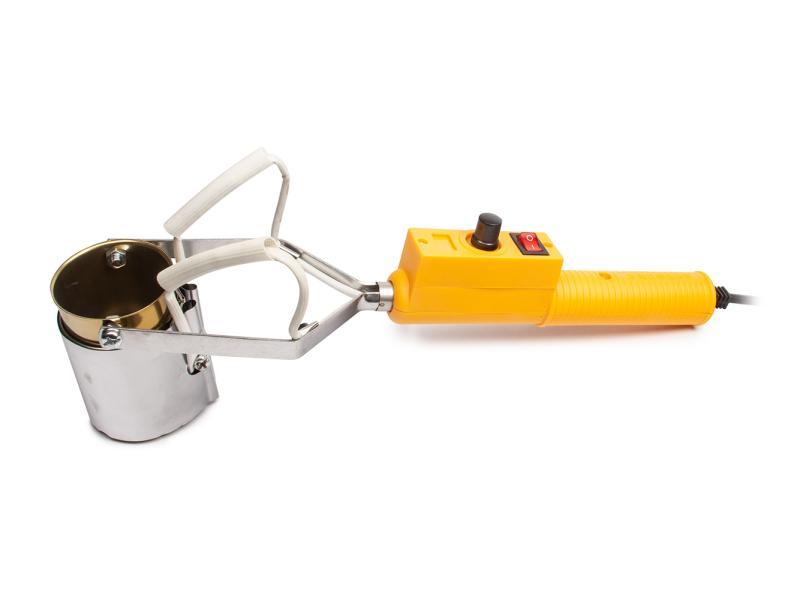 Elektrická ruční pícka na odlévání olova a cínu 290W 50mm