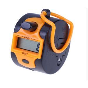 Ruční digitální počitadlo (clicker), oranžové