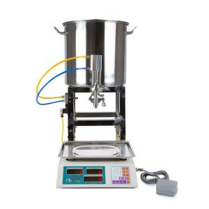 Poloautomatický váhový dávkovač - plnička kapalin 20-5000g