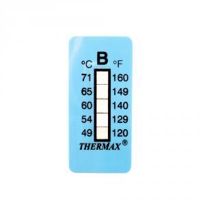 Výrobek: Samolepící teploměr / indikační proužek nereversibilní 49-71°C