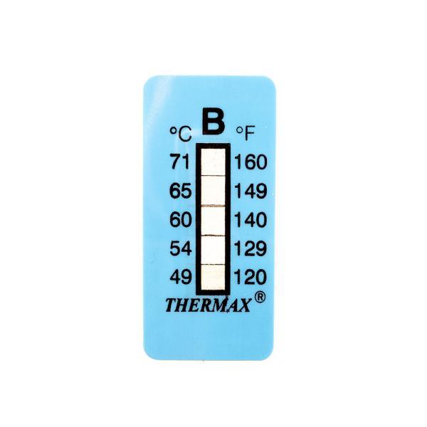Samolepící teploměr / indikační proužek nereversibilní 49-71°C